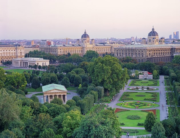 View of Vienna, Austria.