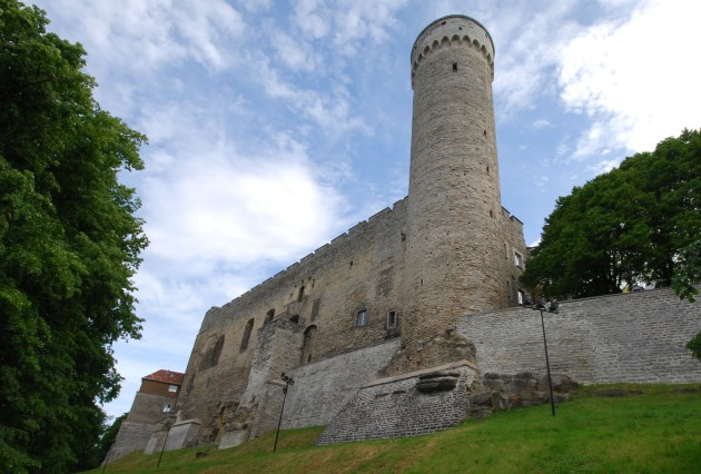 Toompea Castle, which protected Tallinn Old Town from war over the centuries
