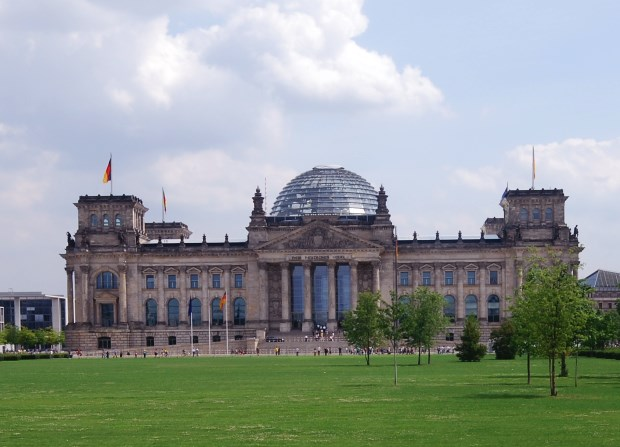 Berlin: The Reichstag, House of the German Parliament