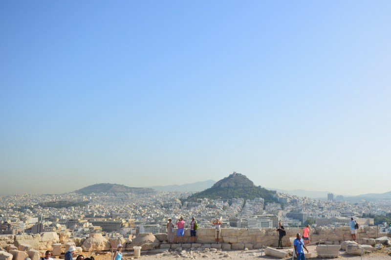 Mt. Lycabettus and Athens