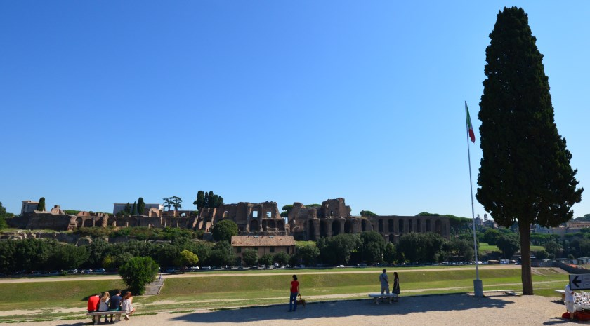 Rome: The Ruins of Roman Palaces on Palatine Hill. Visit the Palatine Antiquarium Museum to see the art and artefacts found.