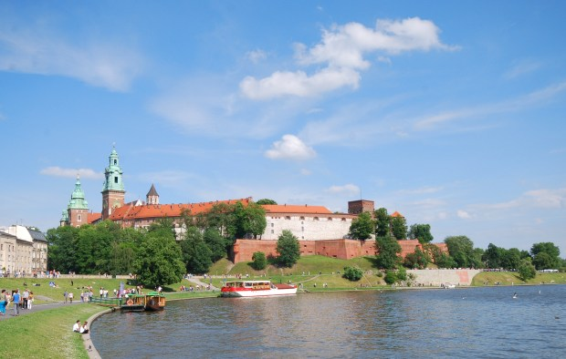 Place to Visit: Wawel Castle overlooking the Vistula River