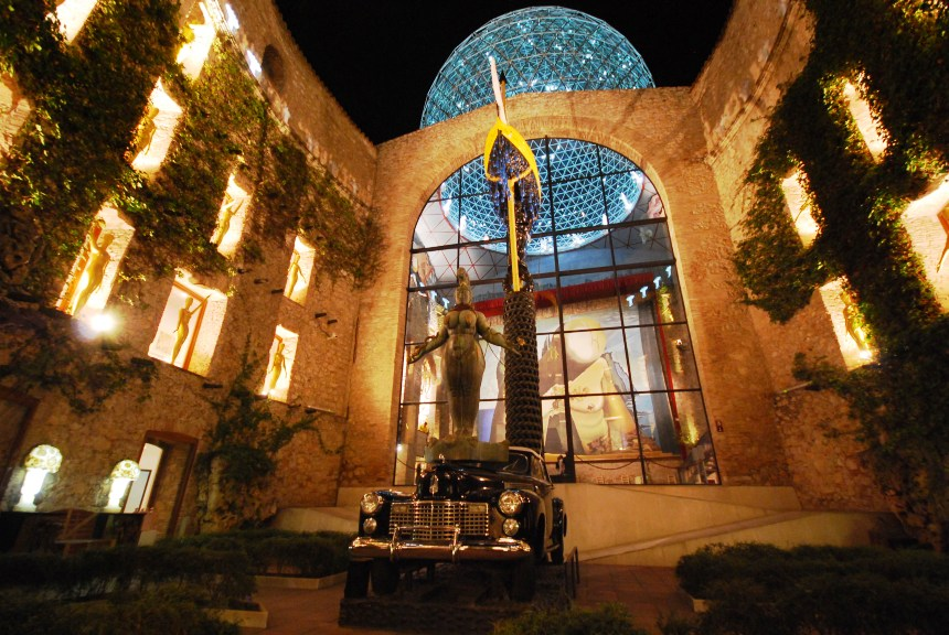 Dali Theatre and Museum at his home town of Figueres, Catalan, Spain